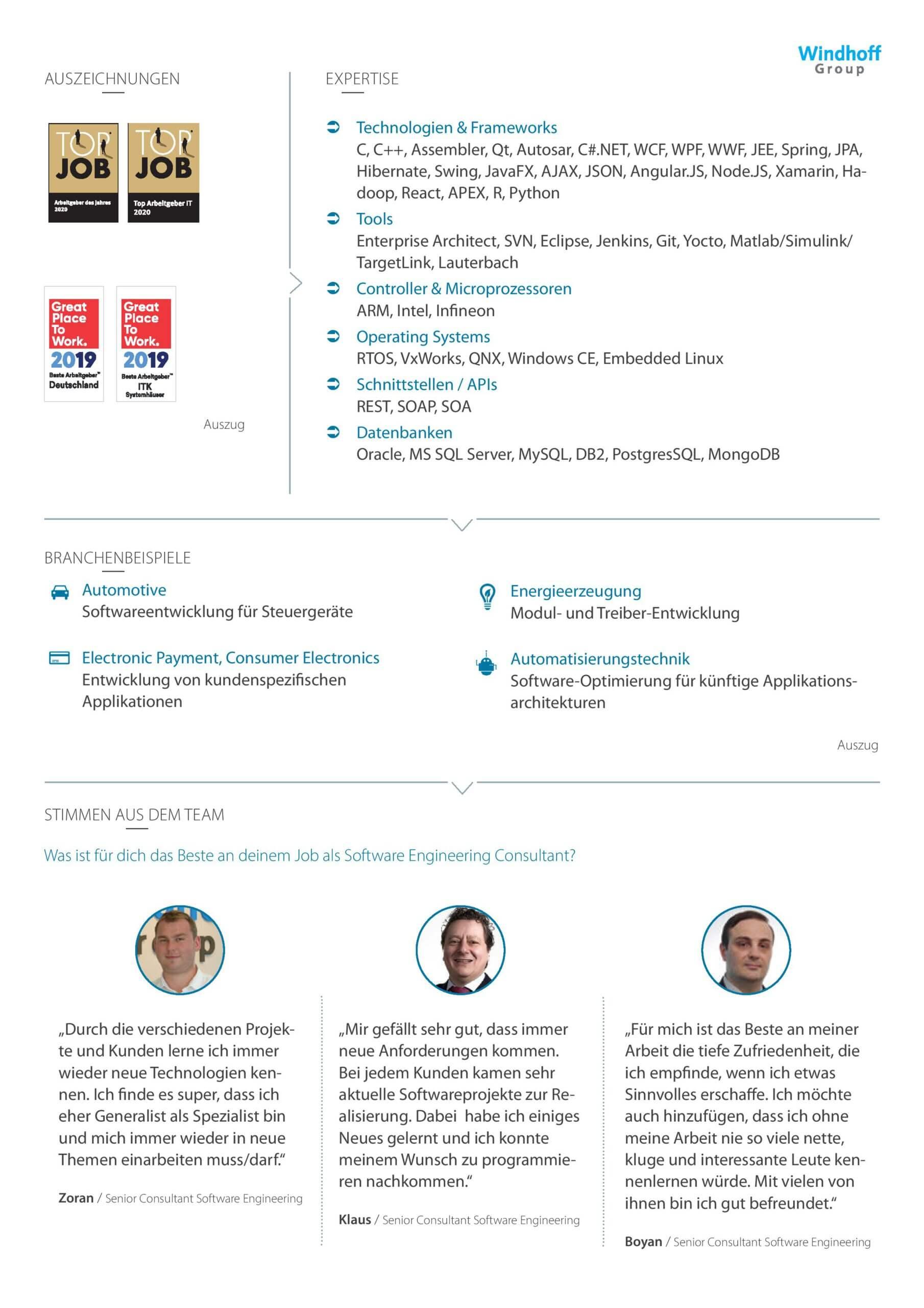 windhoff group_Steckbrief-Software-Engineering_2